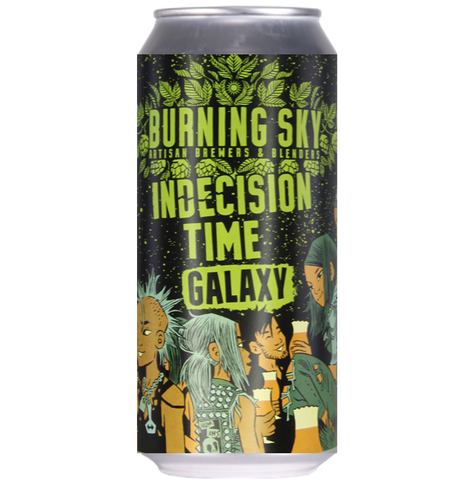 Burning Sky Indecision Time Galaxy Pale Ale 440ml (5.6%)