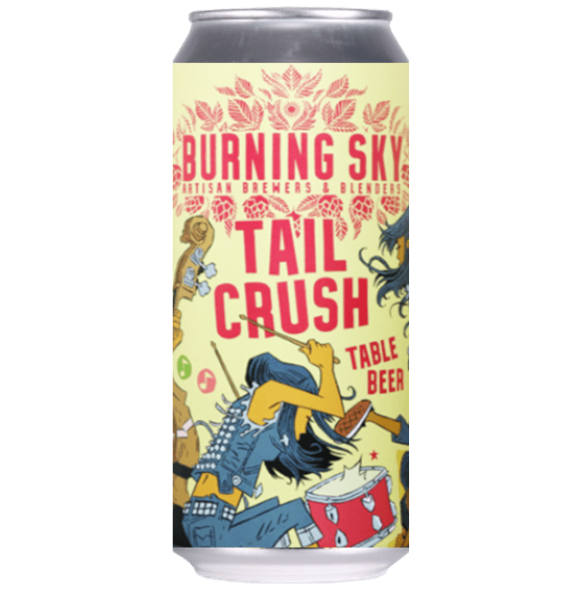 Burning Sky Tail Crush Table Beer 440ml (3%)