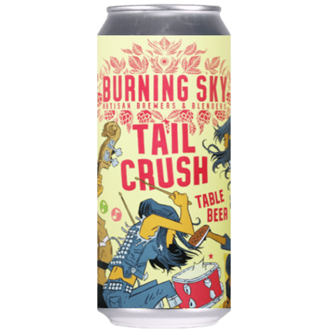 Burning Sky Tail Crush Table Beer 440ml (3%) - indiebeer