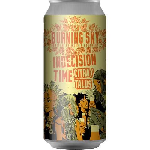Burning Sky Indecision Time Citra/Talus Pale Ale 440ml (5.6%)