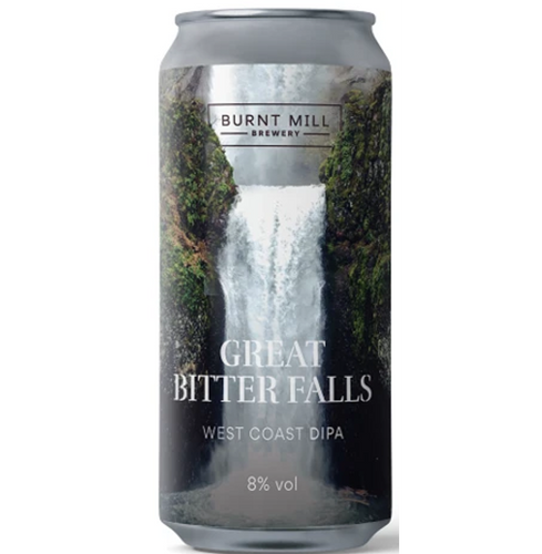 Burnt Mill Great Bitter Falls West Coast DIPA 440ml (8%)