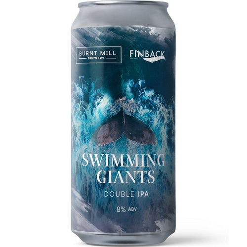 Burnt Mill x Finback Brewery NY collab - Swimming Giants DIPA 440ml (8%)