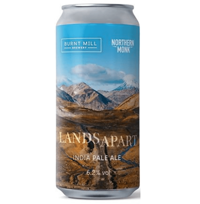 Burnt Mill x Northern Monk Collab Lands Apart IPA 440ml (6.2%)