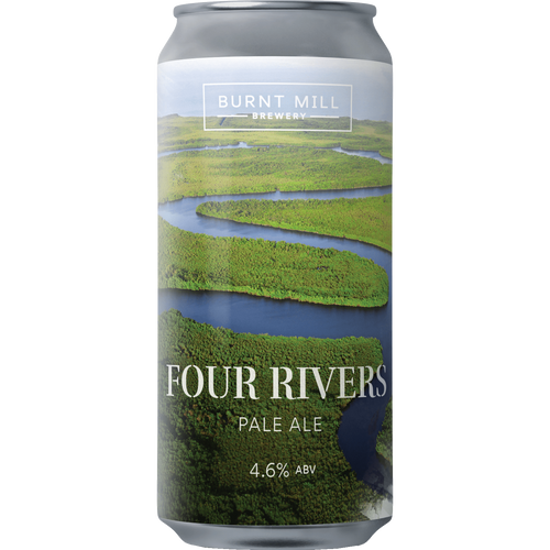 Burnt Mill Four Rivers New England Pale 440ml (4.6%)