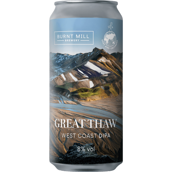 Burnt Mill Great Thaw West Coast DIPA 440ml (8%)