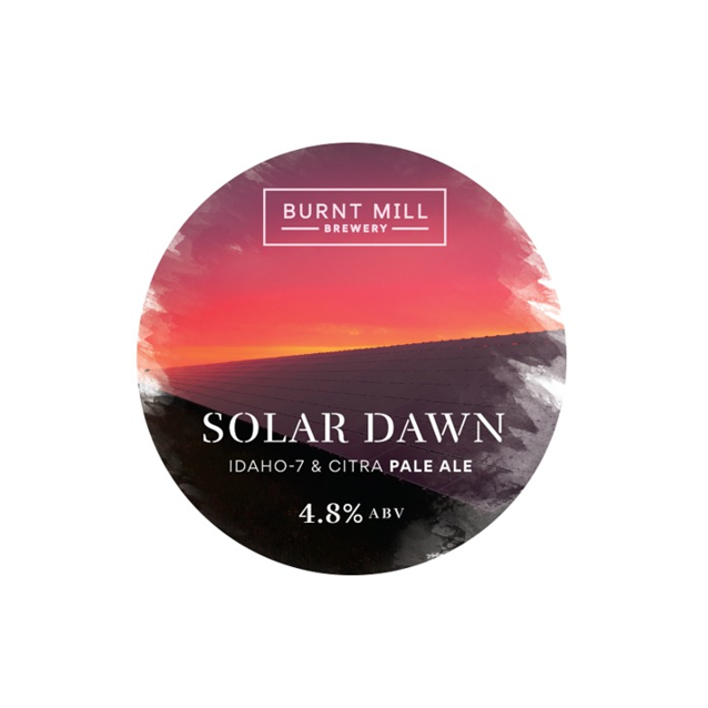 Burnt Mill Solar Dawn Pale Ale 440ml (4.8%)