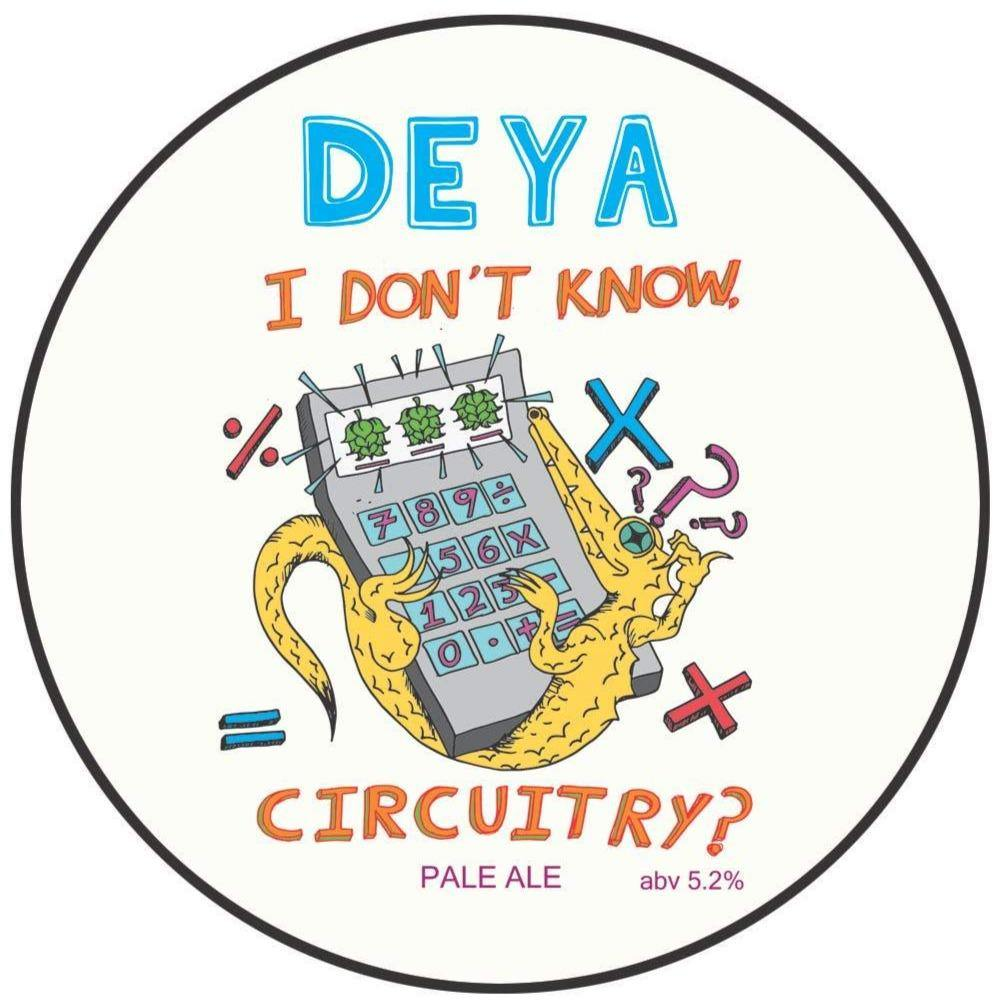 DEYA I Don't Know Circuitry? Pale Ale 500ml (5.2%)