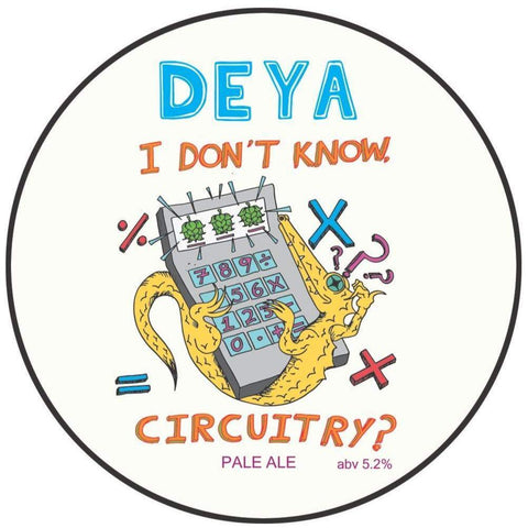 DEYA I Don't Know Circuitry? Pale Ale 500ml (5.2%) - indiebeer