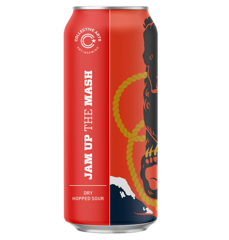 Collective Arts Jam Up the Mash Dry Hopped Sour 473ml (5.2%) - indiebeer