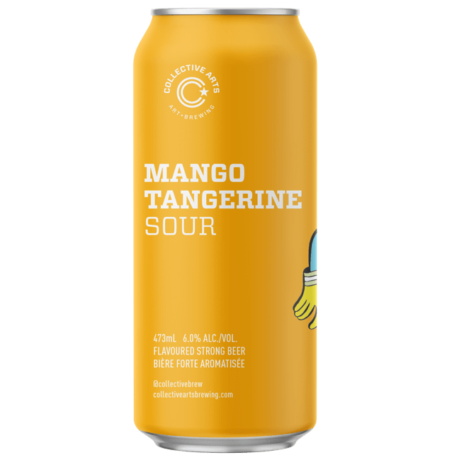 Collective Arts Mango & Tangerine Sour 473ml (6%)