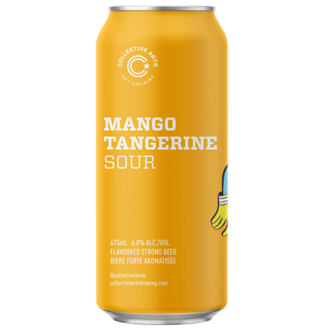 Collective Arts Mango & Tangerine Sour 473ml (6%) - indiebeer