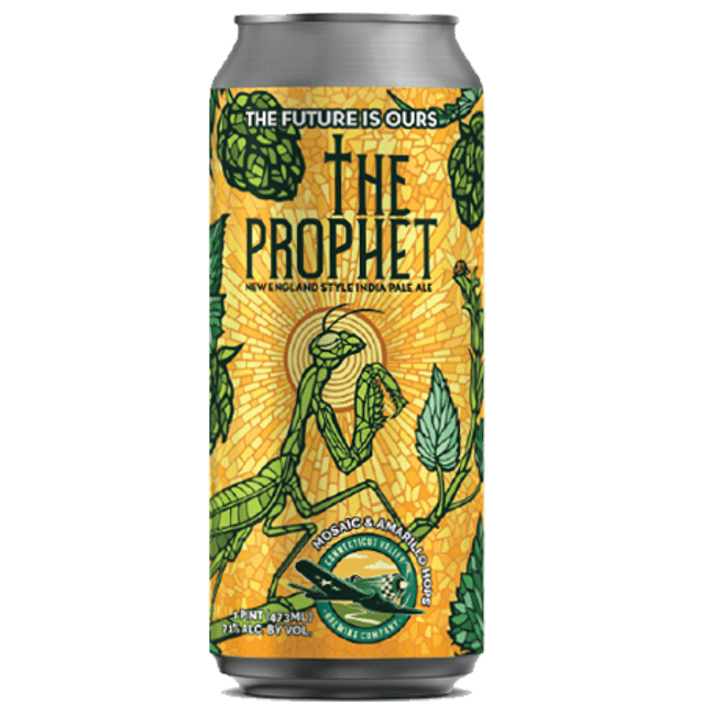 Connecticut Valley The Prophet NEIPA Mosaic & Amarillo 473ml (7.1%)