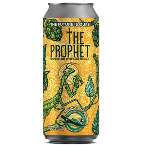 Connecticut Valley The Prophet NEIPA Mosaic & Amarillo 473ml (7.1%) - indiebeer