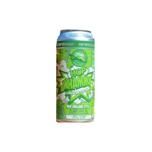 Connecticut Valley Brewing Hop Whammy New England Style Wet Hop IPA 473ml (7%)