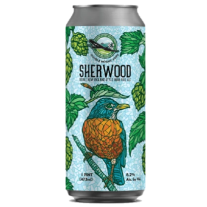 Connecticut Valley Brewing Sherwood Mosaic New England Style DIPA 473ml (8.2%)