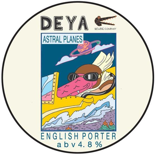 DEYA Astral Planes English Porter 500ml (4.8%)