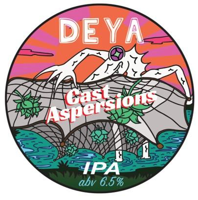 DEYA Cast Aspersions IPA 500ml (6.5%)