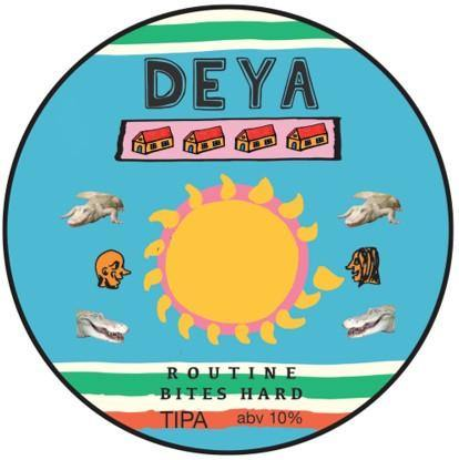 DEYA Routines Bite Hard TIPA 500ml (10%)