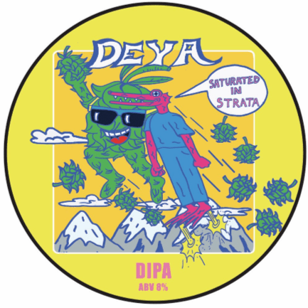 DEYA Saturated In Strata DIPA 500ml (8%)