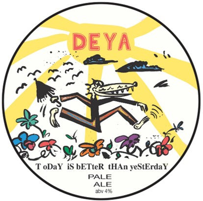 DEYA Today Is Better Than Yesterday Pale Ale 500ml (4%)