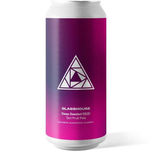 Glasshouse Beer Co Deep Seeded 3/21 Tart Fruit Pale Ale 440ml (3.6%)