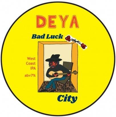 DEYA Bad Luck City West Coast IPA 500ml (7%)