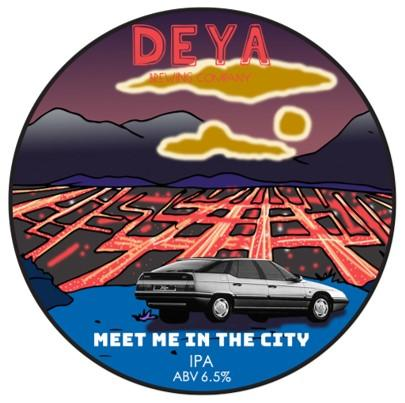 DEYA Meet Me In The City IPA 500ml (6.5%) - indiebeer
