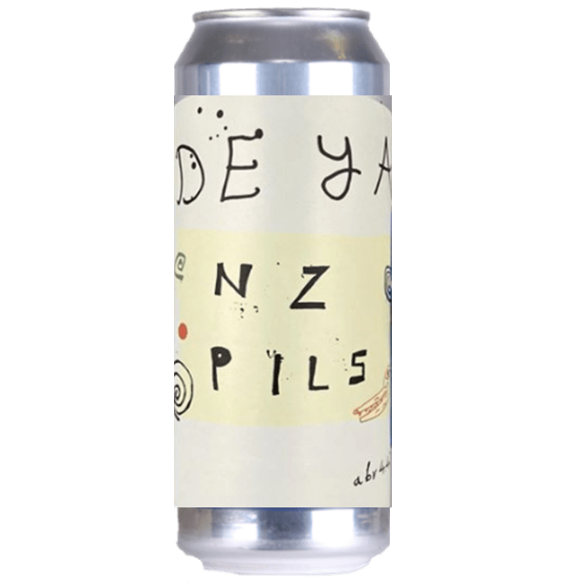 DEYA NZ Pils New Zealand Pilsner  440ml (4.4%) - 1 can limit