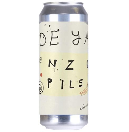 DEYA NZ Pils New Zealand Pilsner 500ml (4.4%) - 1 can limit
