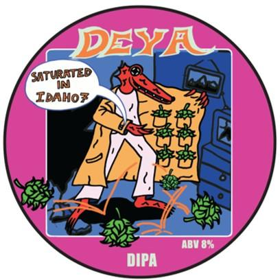 Deya Saturated In Idaho 7 DIPA 440ml (8%) - indiebeer