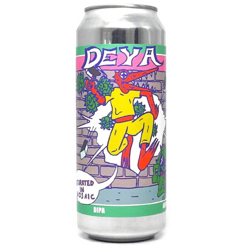 DEYA Saturated in Mosaic Single Hop DIPA 500ml (8%)