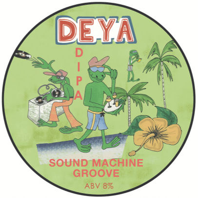 DEYA Sound Machine Groove DIPA 500ml (8%) - indiebeer