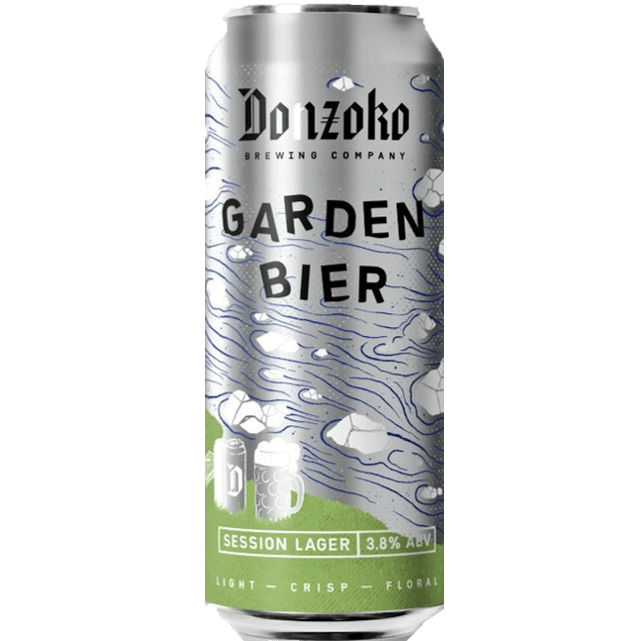 Donzoko Garden Bier Session Lager 500ml (3.8%)