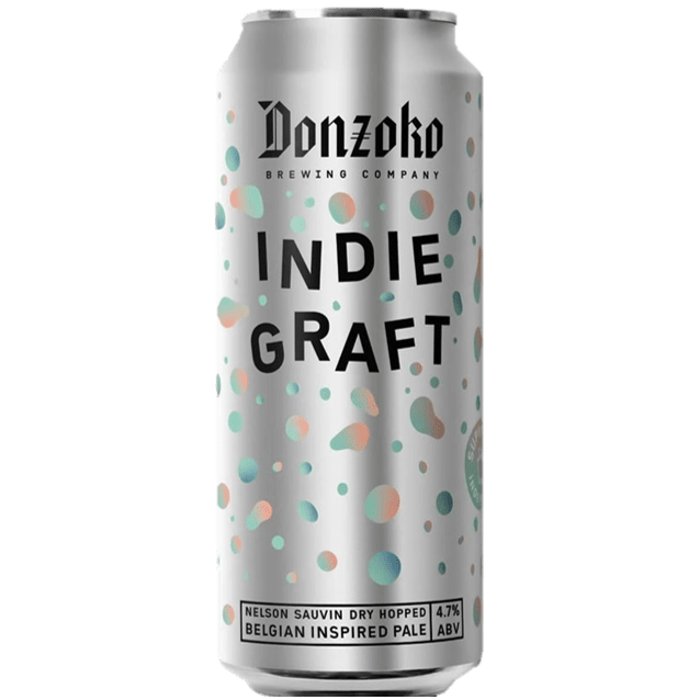Donzoko x Beer Shops Collab - Indie Graft Belgian Inspired Pale Ale 500ml (4.7%)