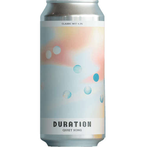 Duration Quiet Song Classic Wit 440ml (4.3%) - indiebeer