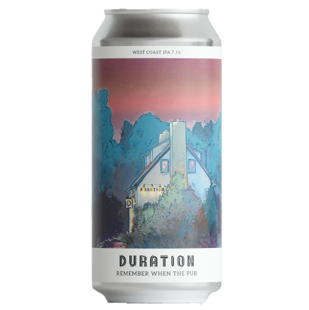 Duration Remember When The Pub West Coast IPA 440ml (7.1%)