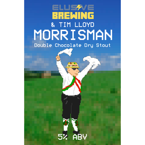Elusive Brewing Morrisman Chocolate Stout 330ml (5%)