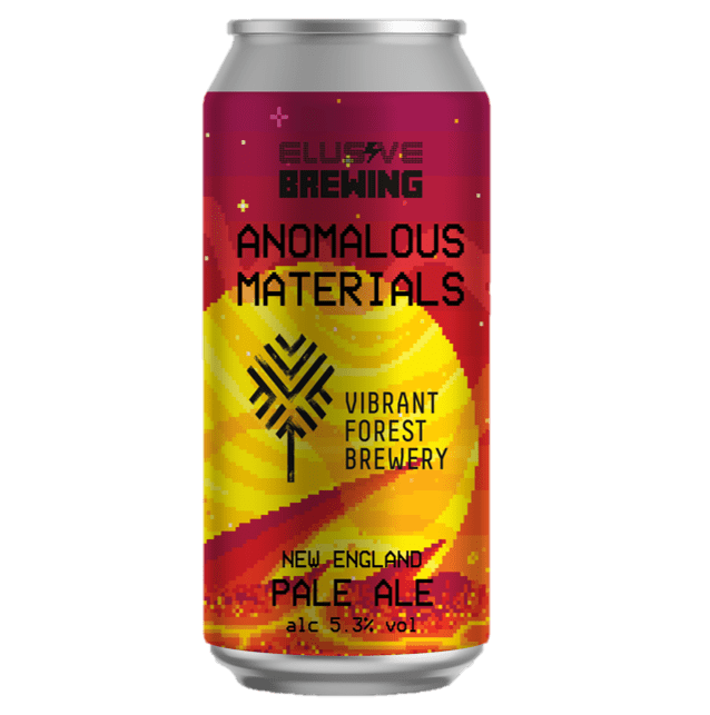 Elusive Brewing x Vibrant Forest collab - Anomalous Materials New England Pale Ale  440ml (5.3%)