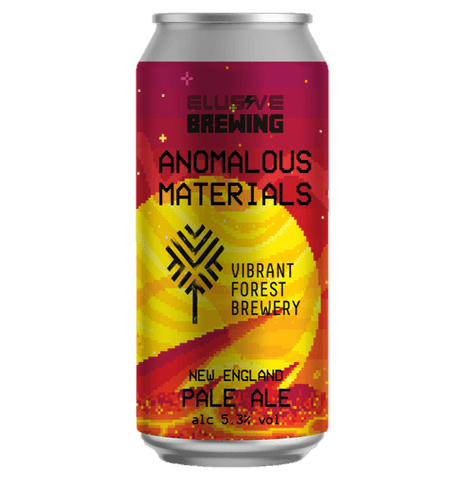 Elusive Brewing x Vibrant Forest collab - Anomalous Materials New England Pale Ale  440ml (5.3%) - indiebeer