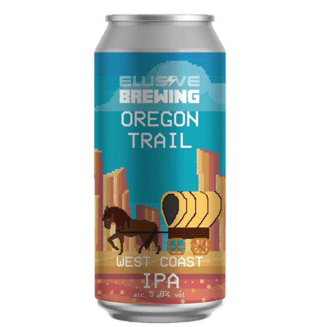 Elusive Brewing Oregon Trail West Coast IPA 440ml (5.8%)