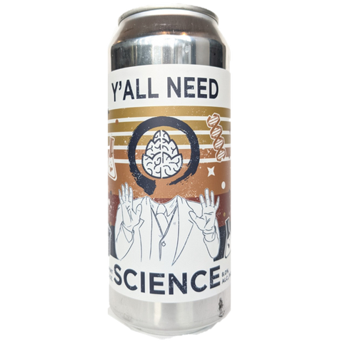 Equilibrium x Cerebral Brewing Collab - Y'all Need Science DIPA 473ml (8%)