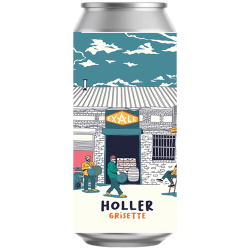Exale Holler Grisette Farmhouse Ale 440ml (3.2%) - indiebeer