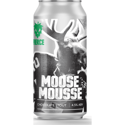 Fierce Beer Moose Moose Chocolate Stout 440ml (4.5%) - indiebeer
