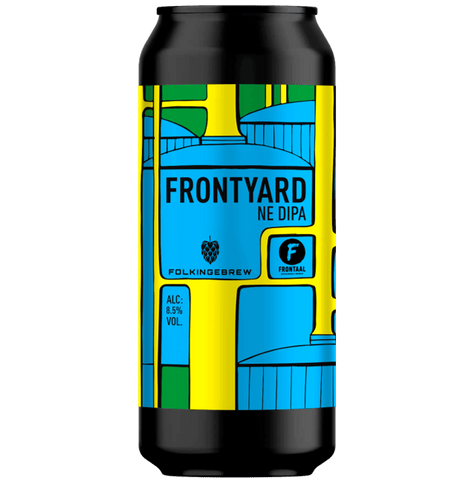 Folkingebrew x Frontaal Collab Frontyard NE DIPA 440ml (8.5%)