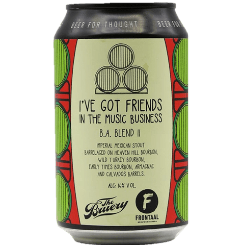 Frontaal x The Bruery collab - BA Friends In Music Business #2 Chilli Imperial Stout330ml (13%) - indiebeer
