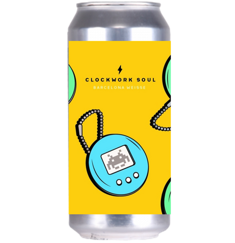 Garage Beer Co Clockwork Soul Barcelona Weisse 440ml (5.5%)