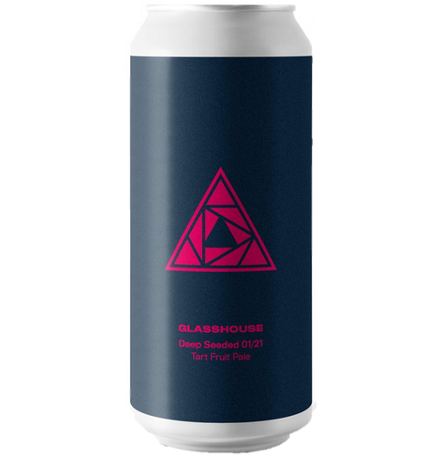 Glasshouse Beer Deep Seeded Raspberry and Blueberry Pale 440ml (5%)