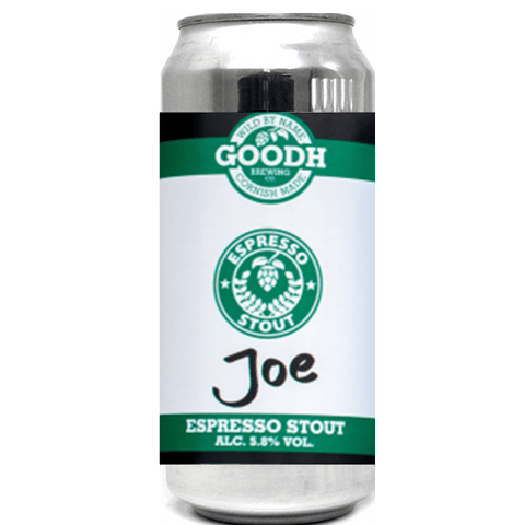 Goodh Brewing Co. Joe Espresso Stout 440ml (5.8%) - indiebeer
