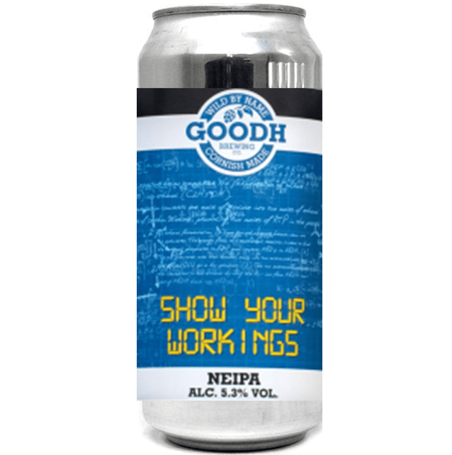 Goodh Brewing Co. Show your Workings NEIPA 440ml (5.3%)