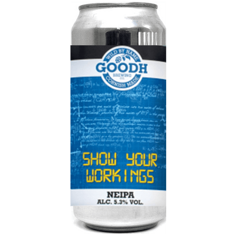 Goodh Brewing Co. Show your Workings NEIPA 440ml (5.3%) - indiebeer